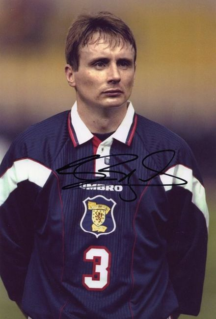 Tom Boyd, Scotland, Celtic, Motherwell, signed 12x8 inch photo.
